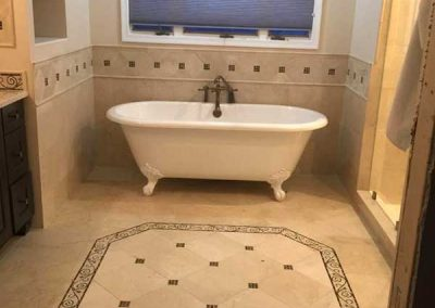Luxury bath renovation