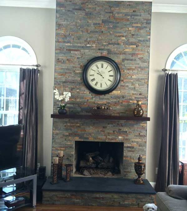 Fireplace Remodeling Project 3
