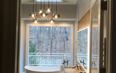 Bathroom Renovation at Great Falls, VA