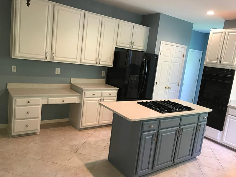 Kitchen Cabinets Paint Project