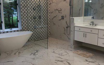 Luxury Master Bathroom in McLean, VA