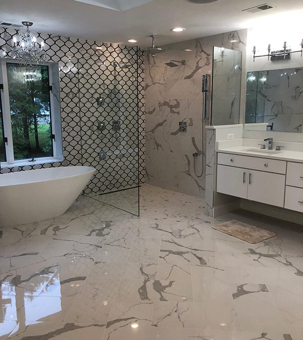 Luxury Master Bathroom in McLean, VA